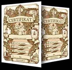 Nejsevernější certifikát